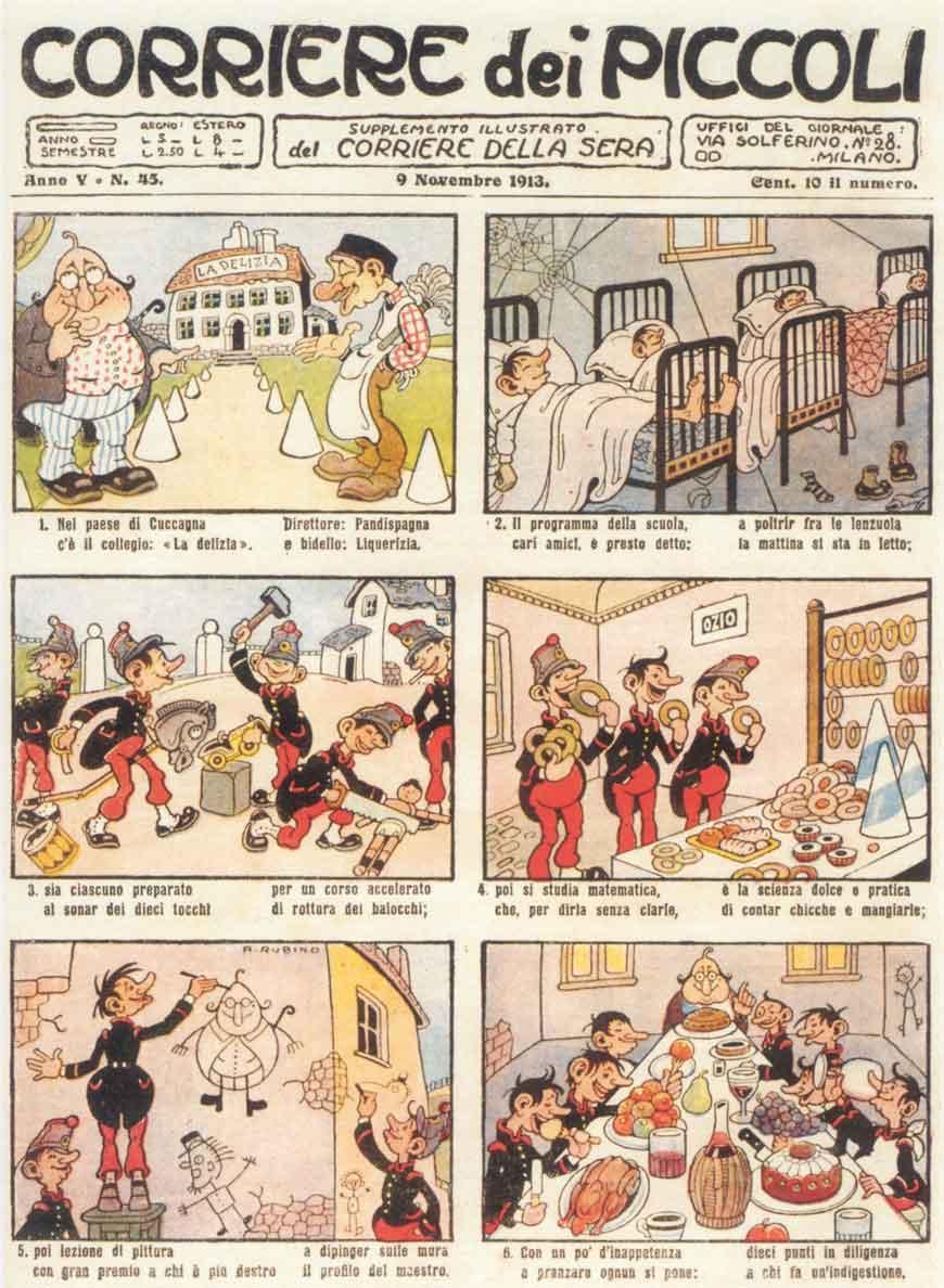 Rubino: Corriere dei Piccoli, Anno V, N. 45, 1913