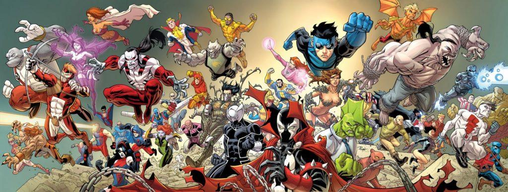 I primi disegnatori della Image Comics