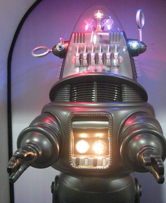 ROBBY IL ROBOT, STAR HOLLYWOODIANA DI METALLO