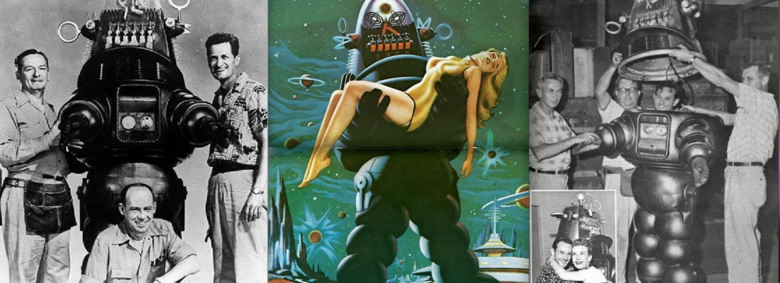 ROBBY IL ROBOT, STAR HOLLYWOODIANA DI METALLO