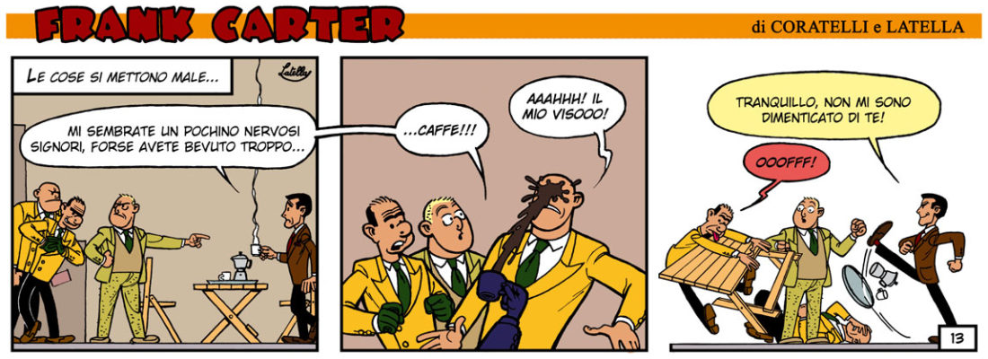 FRANK CARTER – EQUIVOCO A CASABLANCA 13