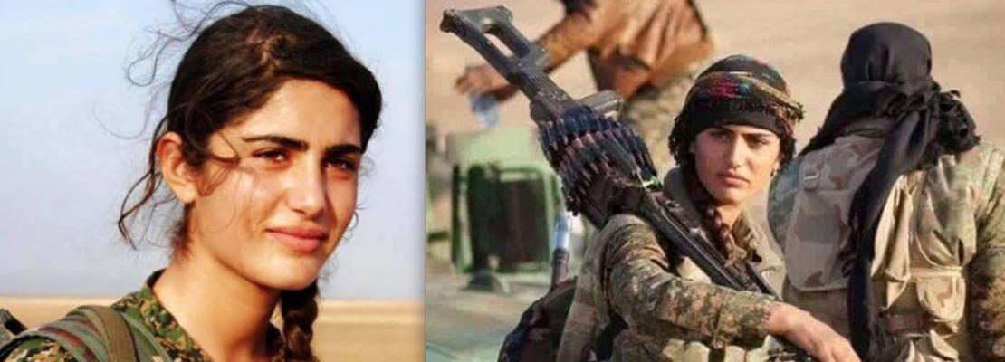 UCCISA DALL'ISIS LA SOLDATESSA SIMBOLO DEI CURDI