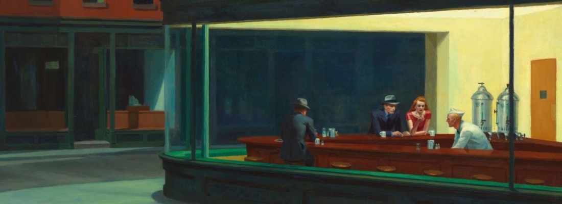 Norman Rockwell ed Edward Hopper a confronto