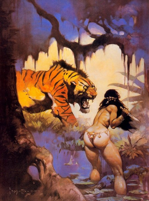 frazetta_jungle_tiger
