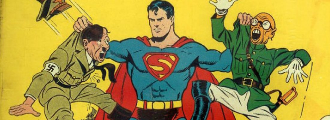 SUPERMAN CATTURA HITLER E STALIN