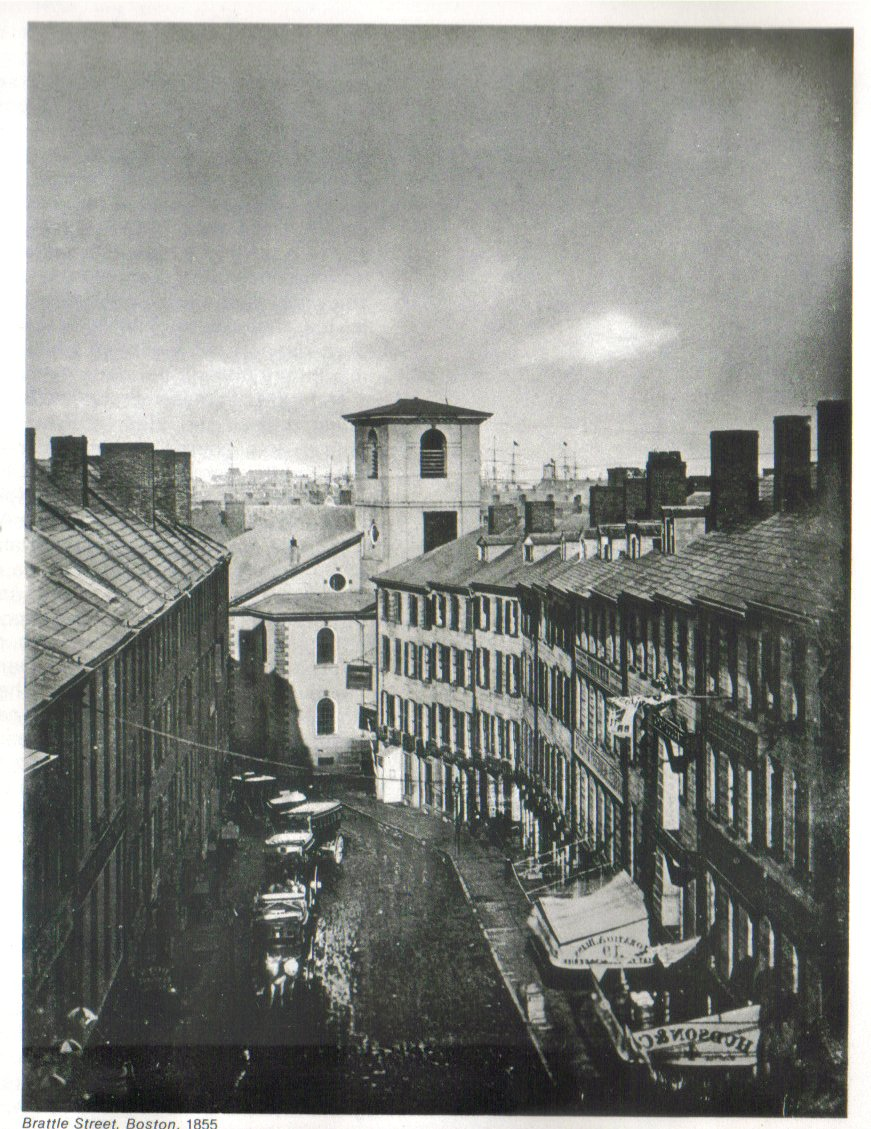 Brattle Street; Boston, 1855