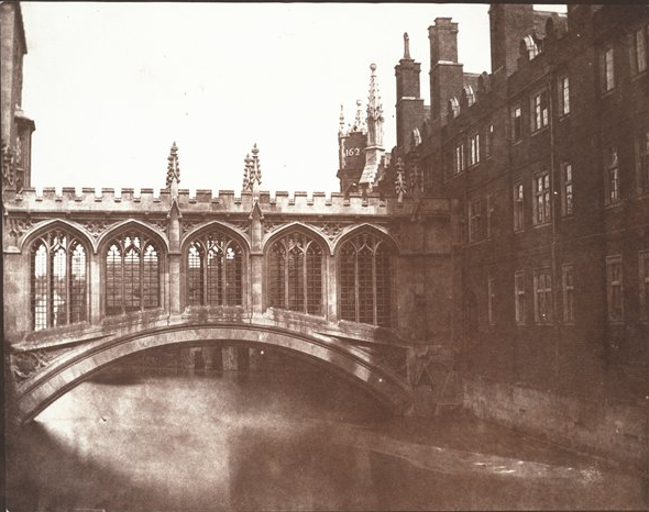 Talbot, The Bridge of Sighs, St. John's College, Cambridge, 1845