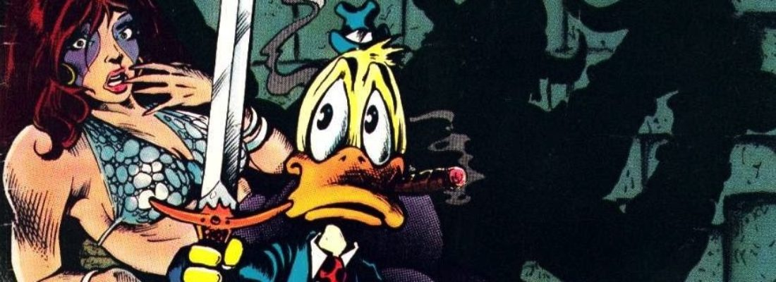 CORRADO ROI E HOWARD THE DUCK SU EUREKA