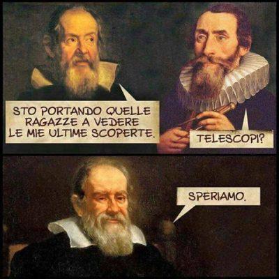 MOMENTO POP – GALILEO GALILEI