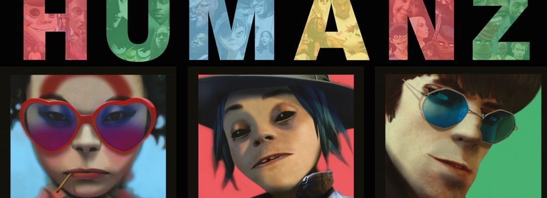 HUMANZ: NUOVO ALBUM E VIDEO A 360° DEI GORILLAZ