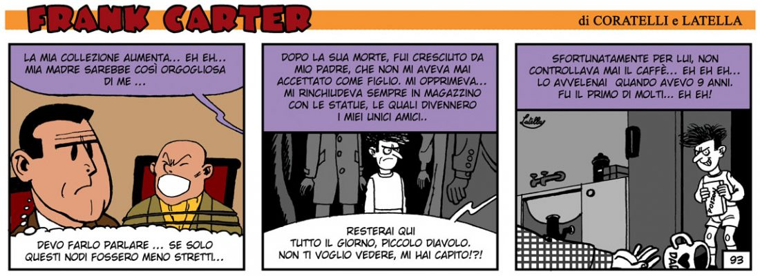 FRANK CARTER – IL MAESTRO DI CERA 18