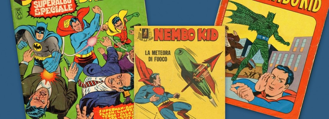 NEMBO KID E PIPISTRELLO, I SUPEREROI IN ITALIA