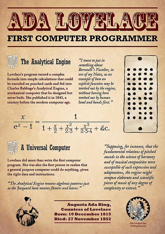 ada lovelace day first programmer