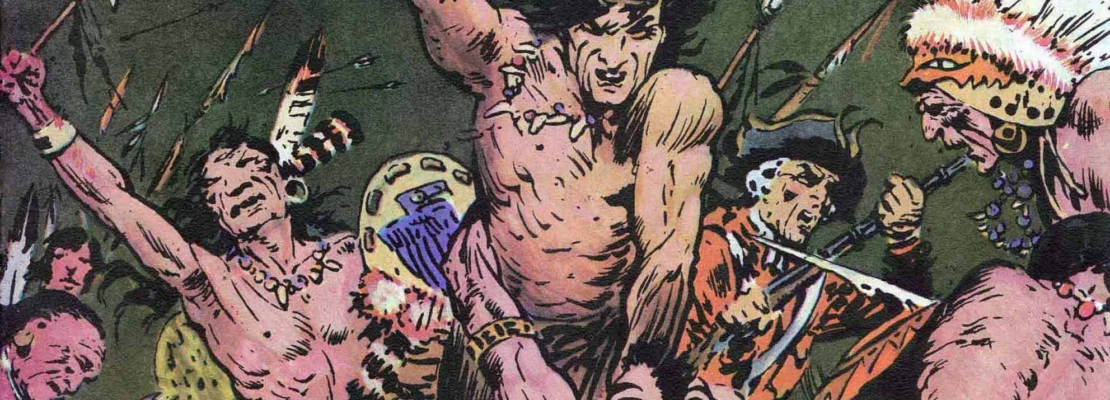DAN BRAND DI FRAZETTA TRADOTTO IN ITALIANO
