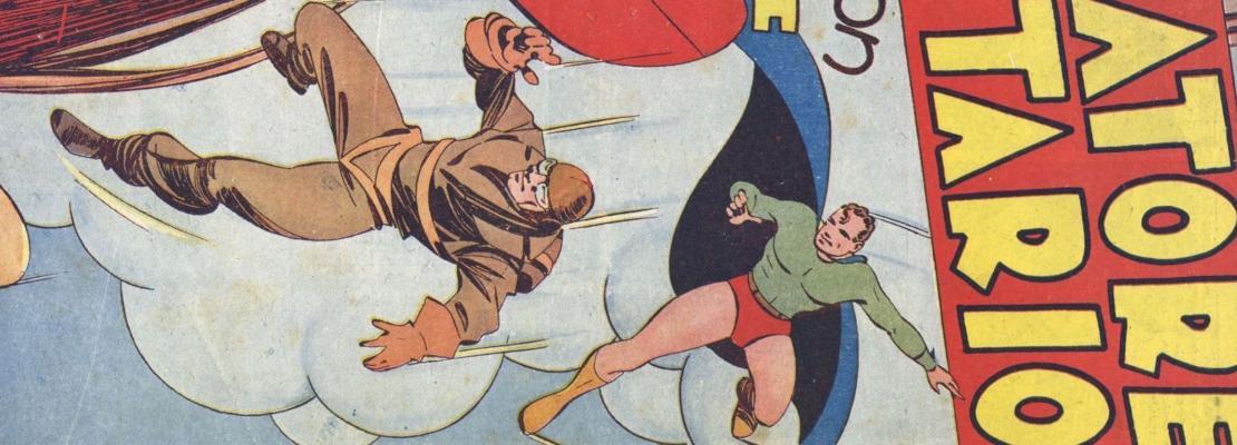 CICLONE, SUPERMAN DURANTE IL FASCISMO E DOPO