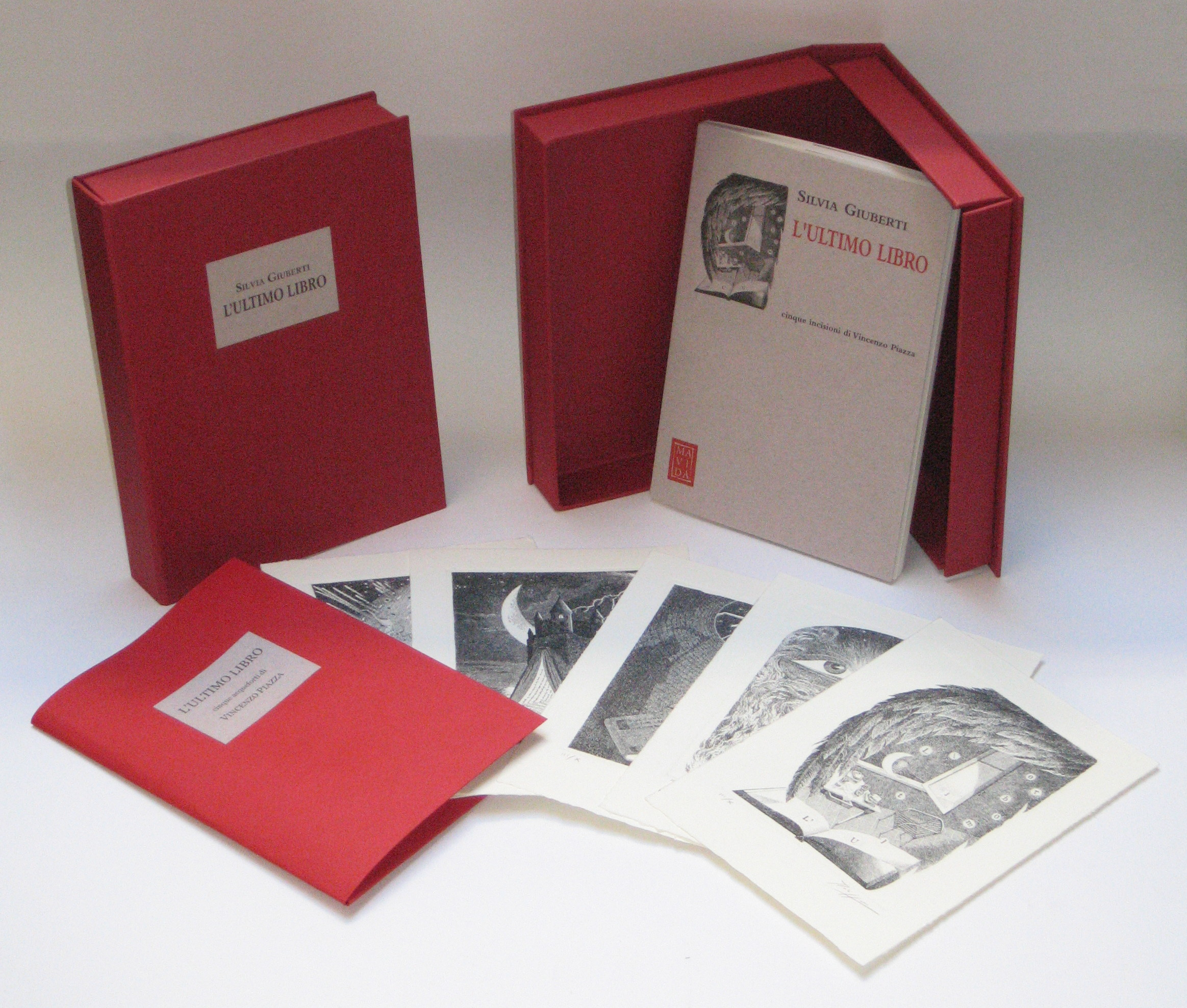 Silvia Giuberti / Vincenzo Piazza: L'ultimo libro (Mavida, 2007)