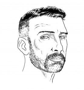 Autoritratto di Roberto Fabris