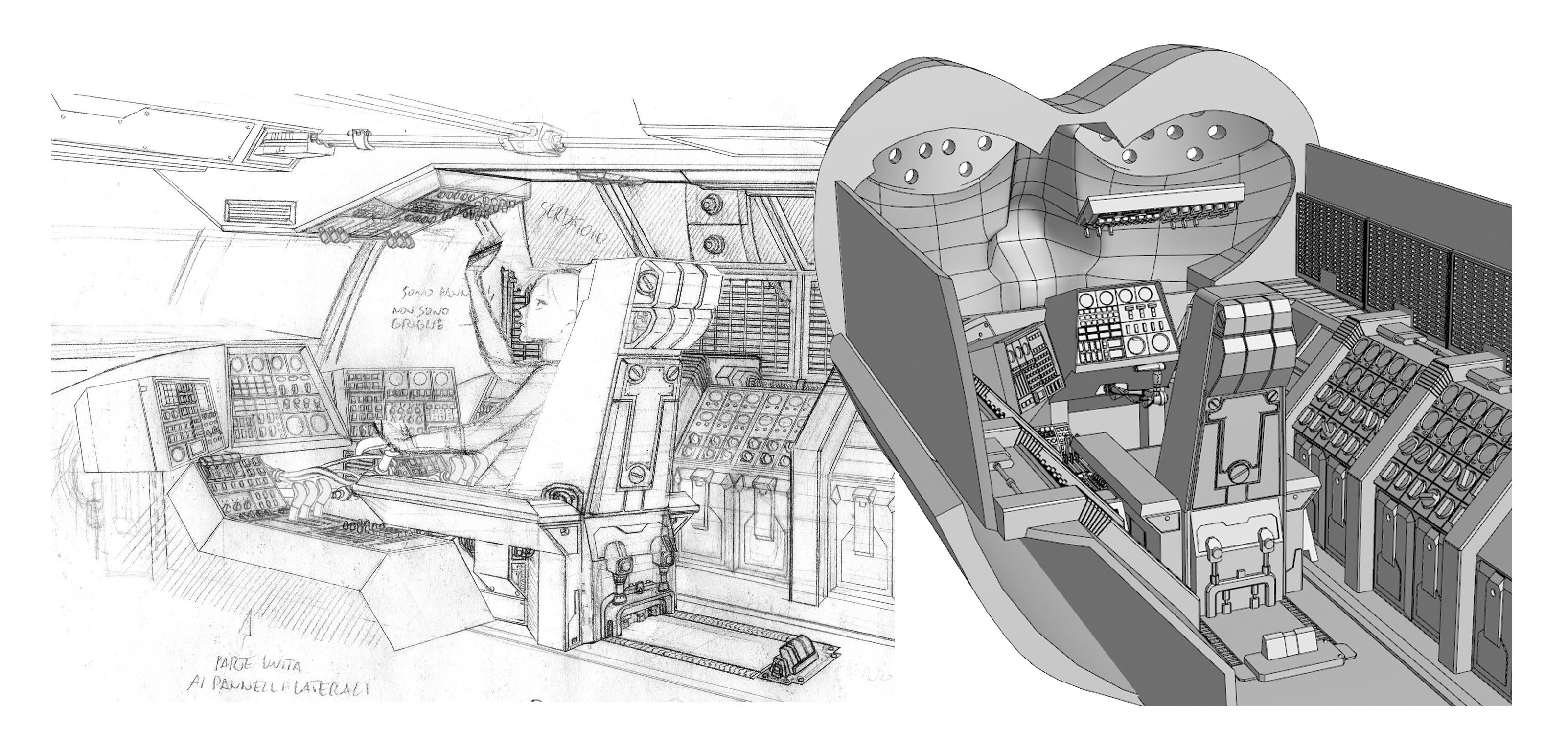 Daniele Cattarin: modello tridimensionale per Megarette