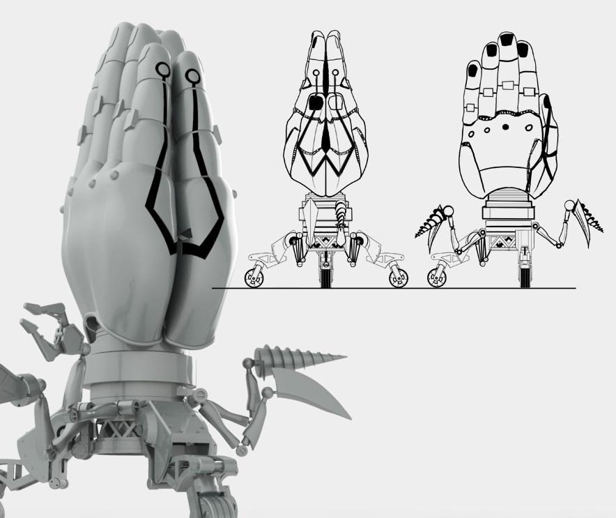 Daniele Cattarin: modello 3D per Megarette