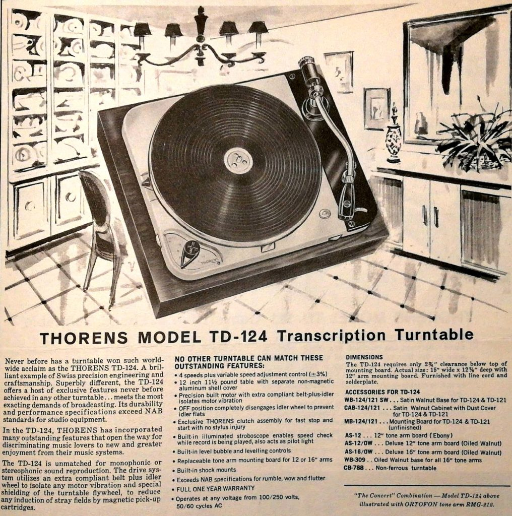 Giradischi Thorens TD-124