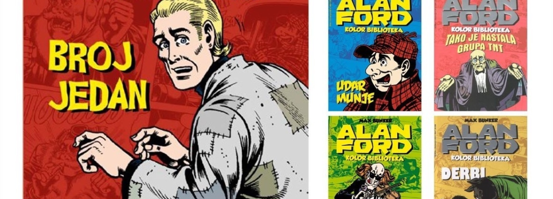 Alan Ford in ex Iugoslavia