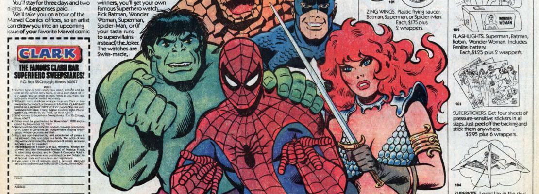 Il paratesto nei fumetti