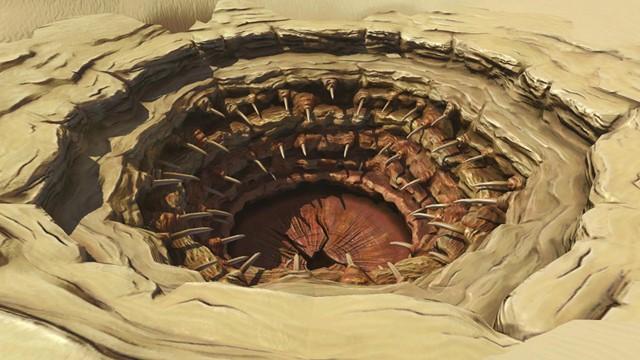 Il pozzo di Sarlacc in Star Wars