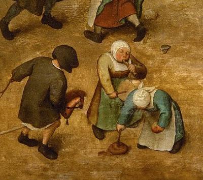 Scherzi di cattivo gusto. Giochi di Bambini (1560)