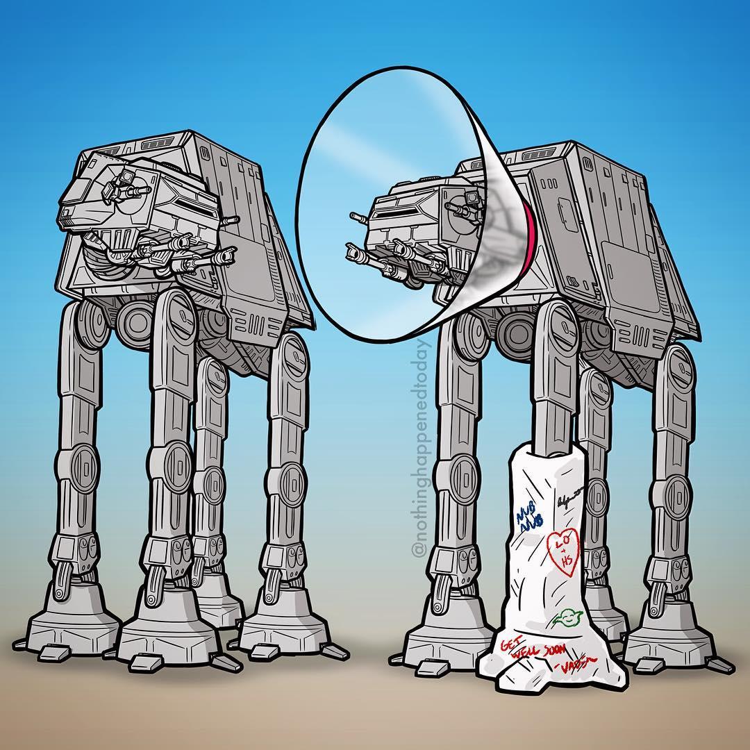 Забавные картинки звездные войны