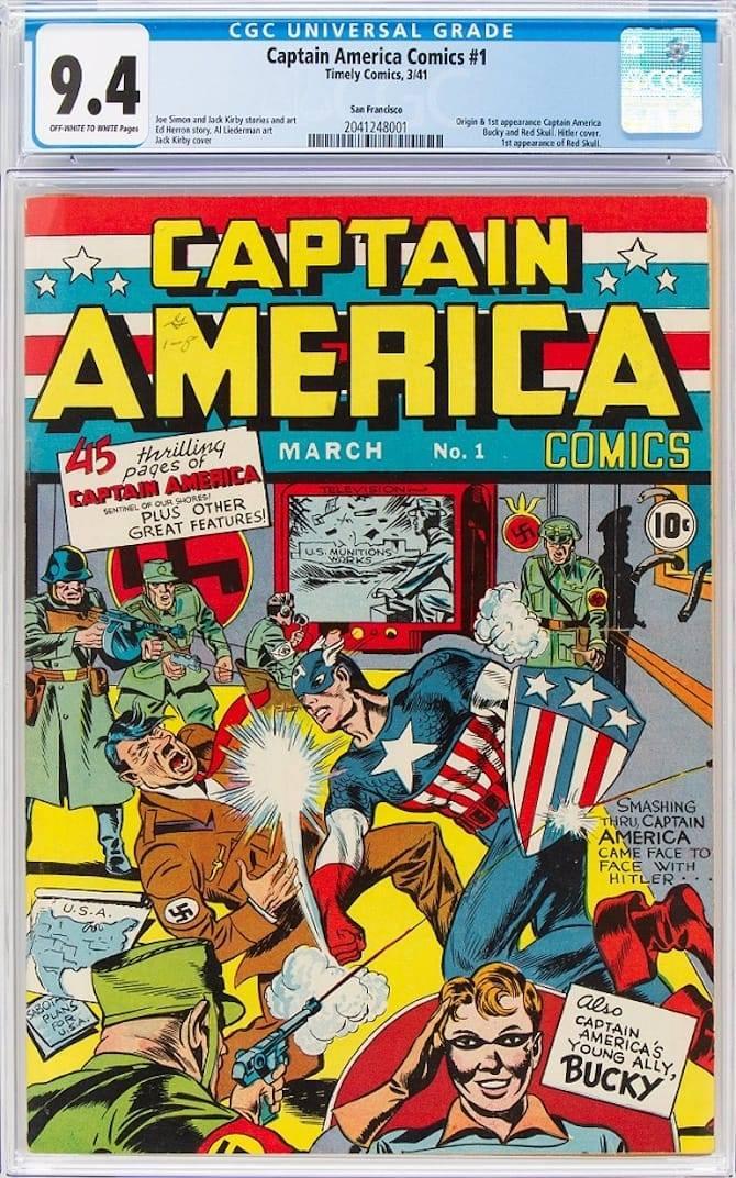 CAPITAN AMERICA, UN QUIZ SU TELEVISIONE E NAZISTI