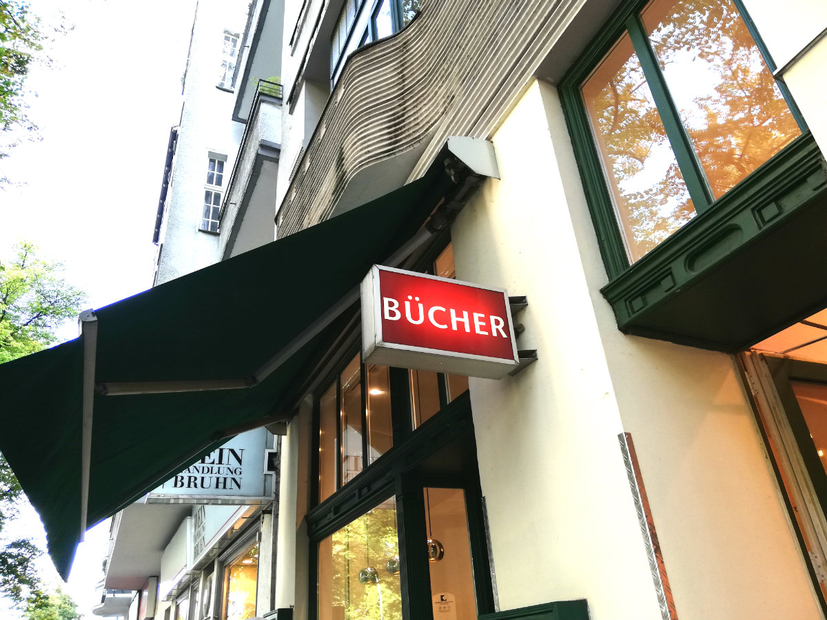 libreria a Berlino