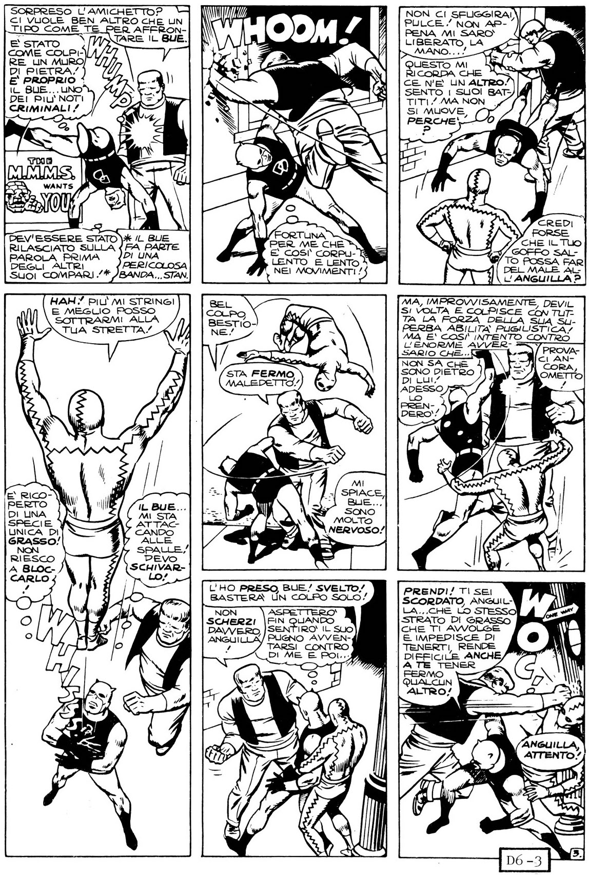 WALLY WOOD DISEGNA DEVIL E LITIGA CON STAN LEE