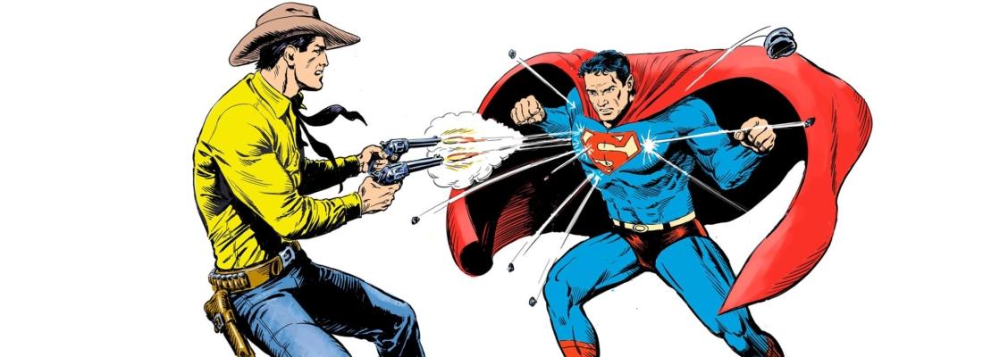 IN ESCLUSIVA LA STORIA DI TEX E SUPERMAN!