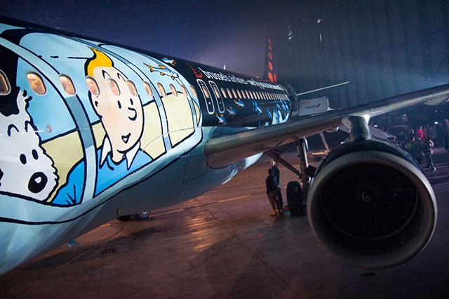 Aereo della Brussels Airlines