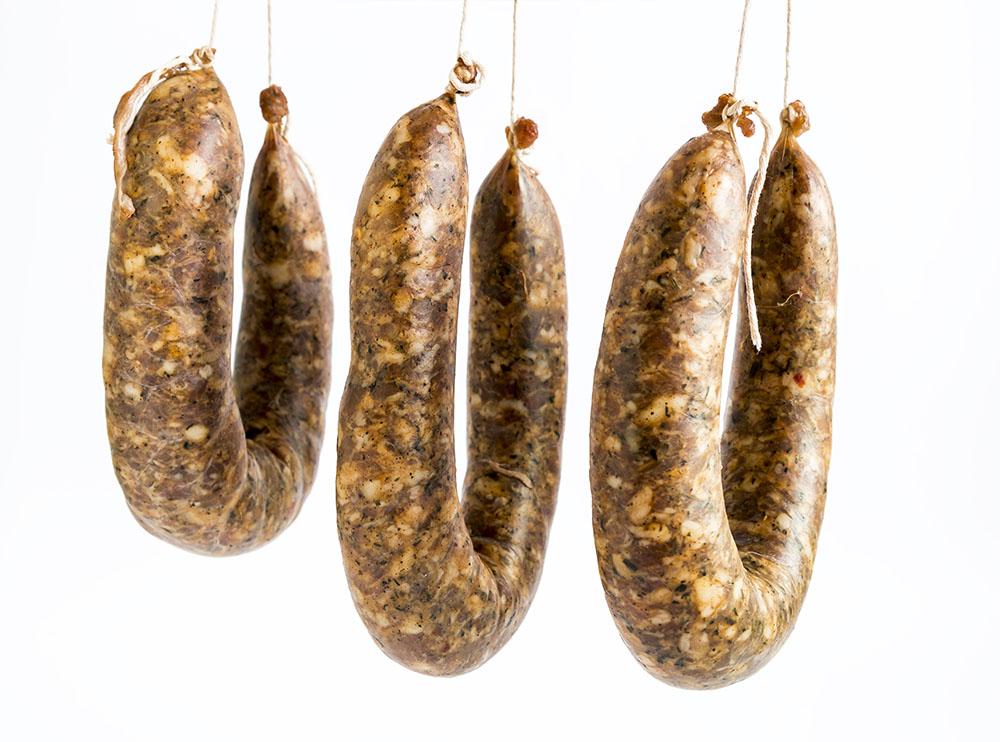 Figatelli, specialità culinaria della Corsica