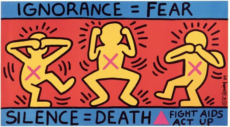 16 febbraio 1990 moriva a New York Keith Haring