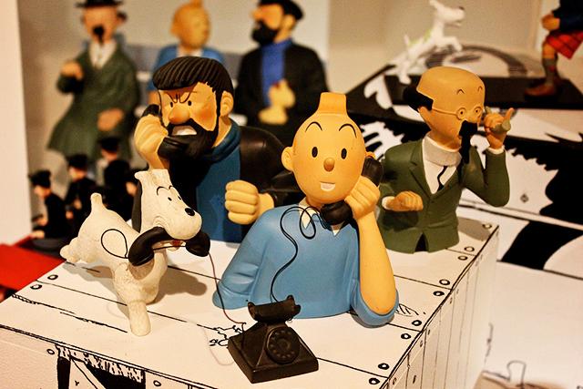 Personaggi di Tintin al MOOF