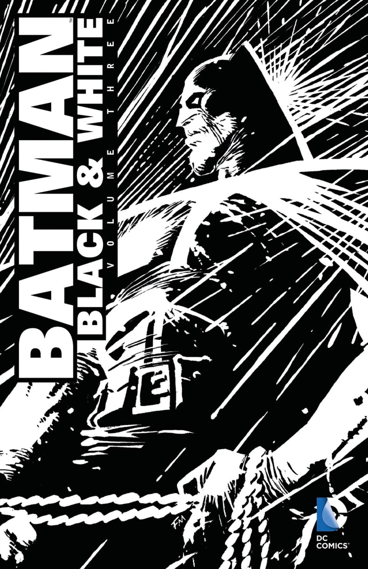 IL BATMAN NOIR E STILIZZATO IN BIANCO E NERO