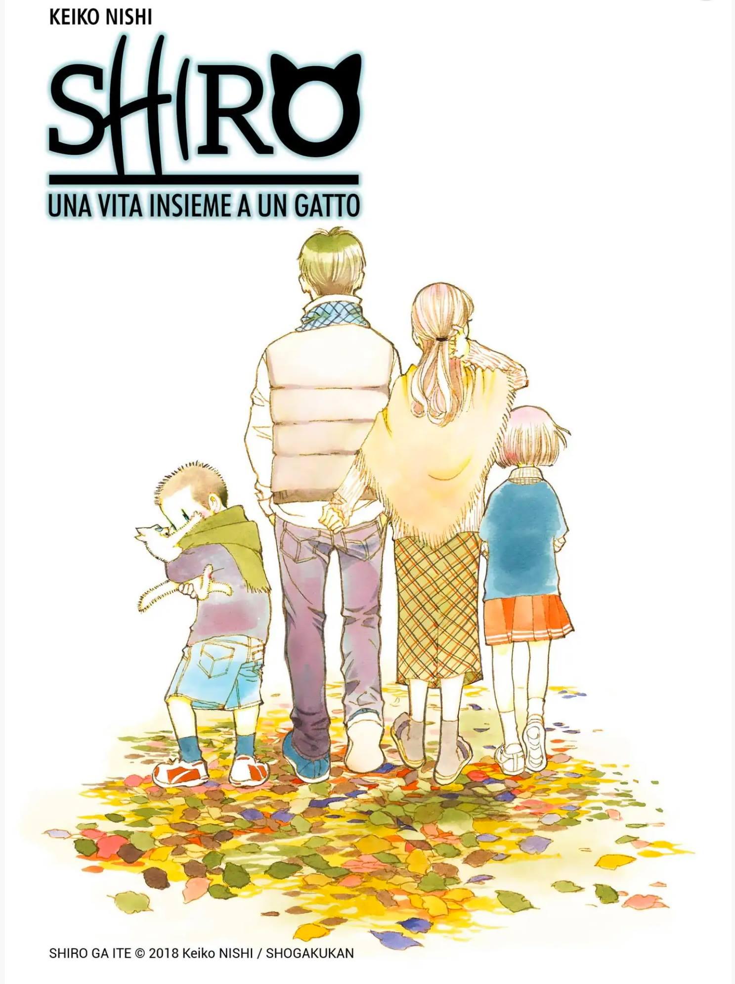 SHIRO, UNA VITA INSIEME A UN GATTO