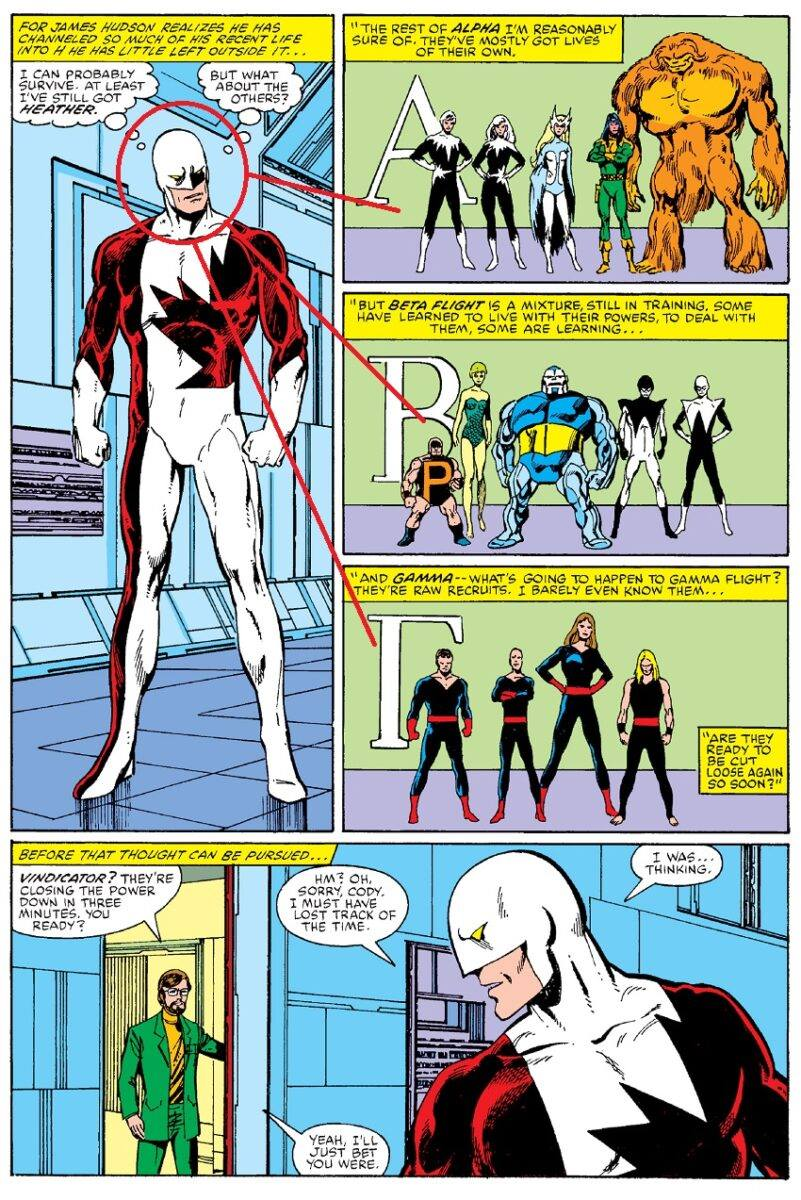 GLI ALPHA FLIGHT DI JOHN BYRNE