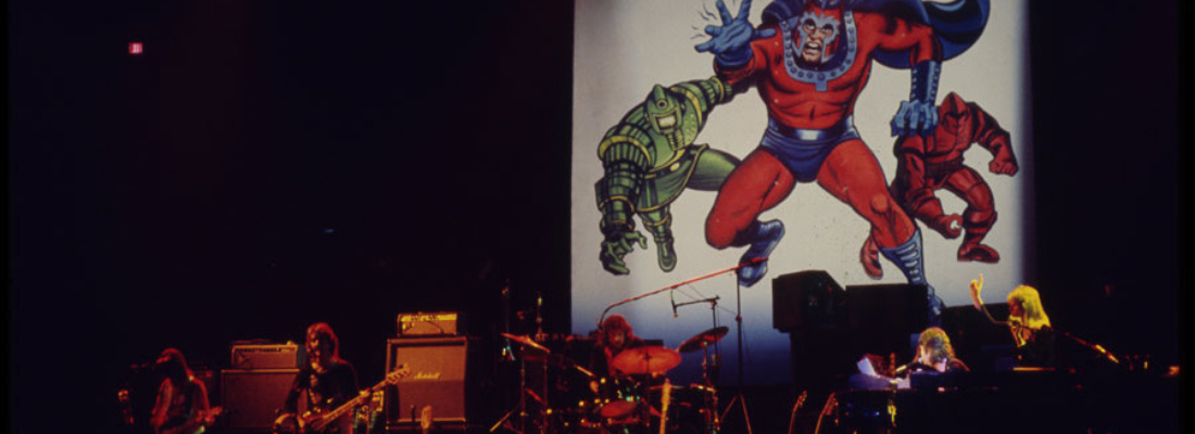 PAUL MCCARTNEY, I PERSONAGGI MARVEL E JACK KIRBY