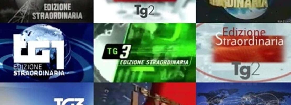 EDIZIONE STRAORDINARIA, LA STORIA ATTRAVERSO I TG