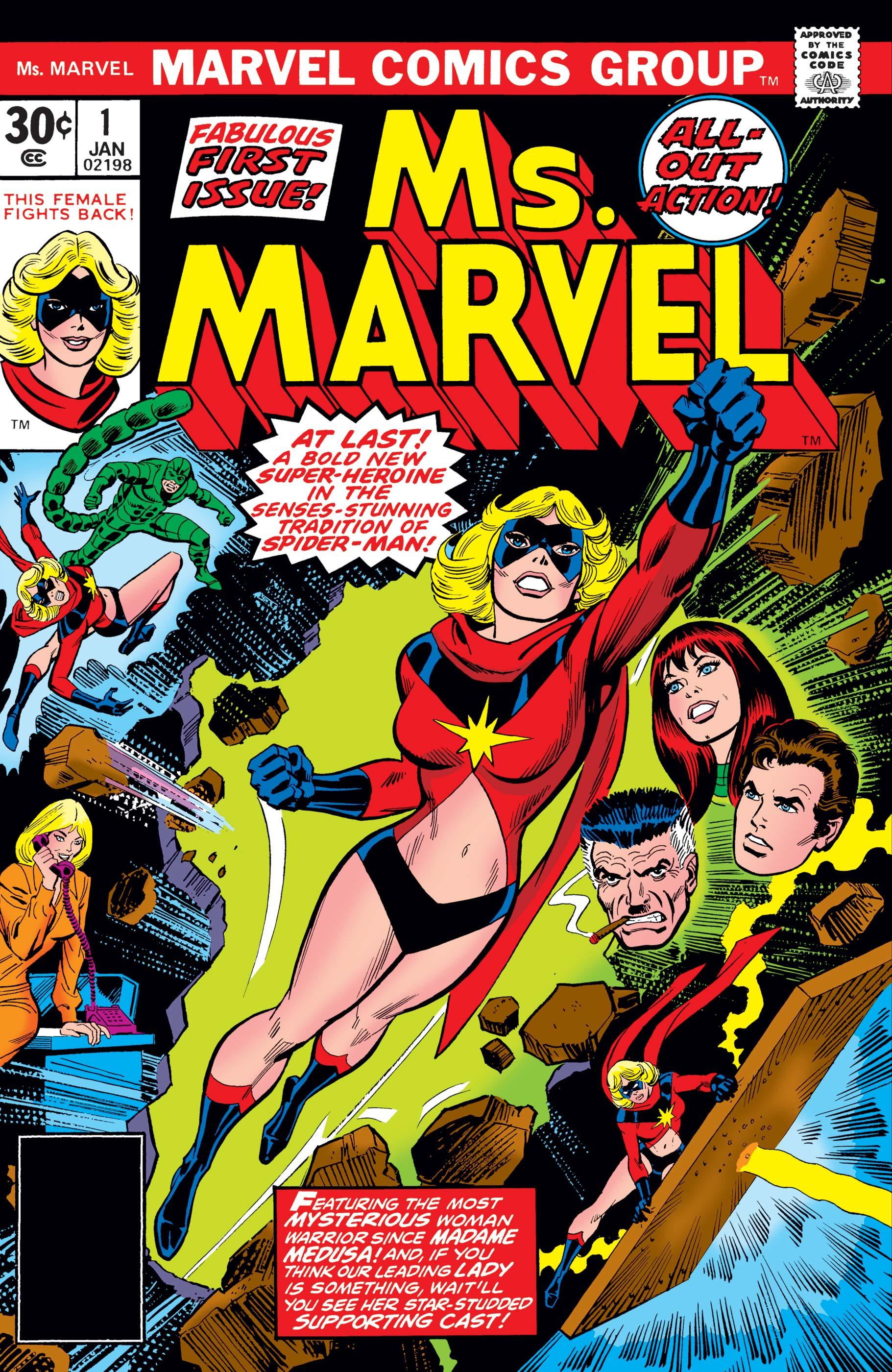 CAROL DANVERS DA MS. MARVEL A CAPITAN MARVEL