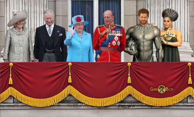 POP - DA BUCKINGHAM PALACE A WAKANDA