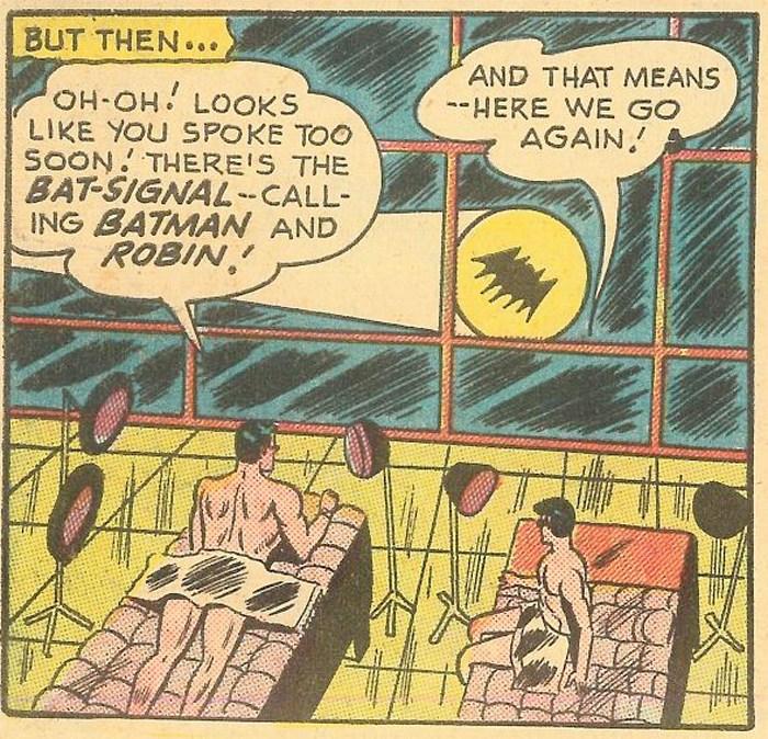 BATMAN E ROBIN NON SONO GAY