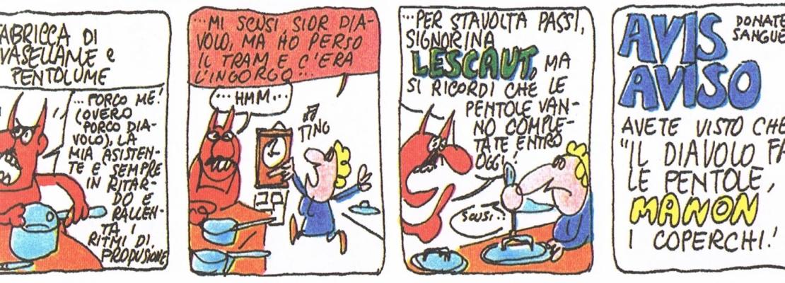 L'OMINO BUFO DI ALFREDO CASTELLI